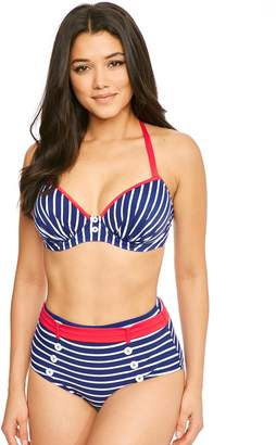 Pour Moi? Pour Moi Starboard Padded Halter Underwired Top