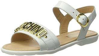 Moschino Girls' FAL001050215702 Heels Sandals Off-White Size: