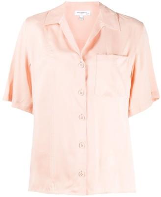 Equipment short-sleeve shift blouse