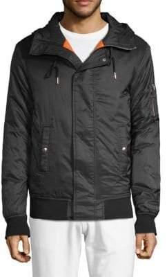 Slate & Stone Hooded Bomber Jacket