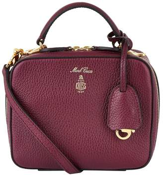 Mark Cross Baby Laura Grained Leather Shoulder Bag