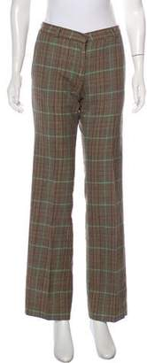 Paul & Joe Wool Mid-Rise Wide-Leg Pants