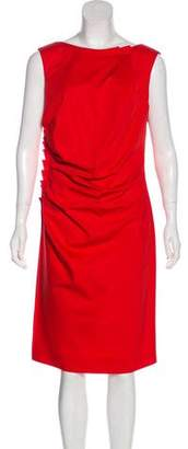 Christian Dior Sheath Midi Dress
