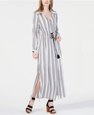 INC International Concepts I.n.c. Petite Striped Maxi Dress