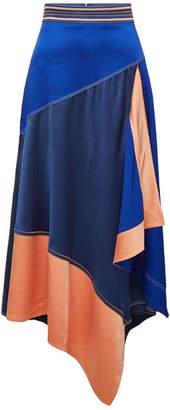 Peter Pilotto Cady Layered Midi Skirt