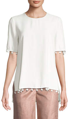ADAM by Adam Lippes Embellished Top