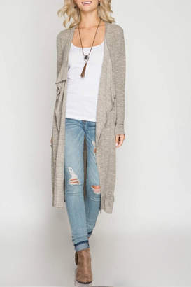 Factory Unknown Long Sleeve Cardigan