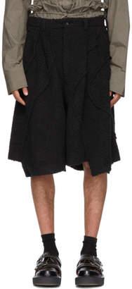 Comme des Garcons Black Boa Shorts