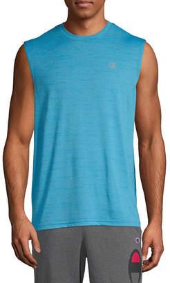c0147736 Champion Mens Crew Neck Sleeveless Moisture Wicking Muscle T-Shirt