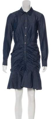 Veronica Beard Long Sleeve Shirt Dress w/ Tags