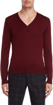 Imperial Star Garnet V-Neck Sweater
