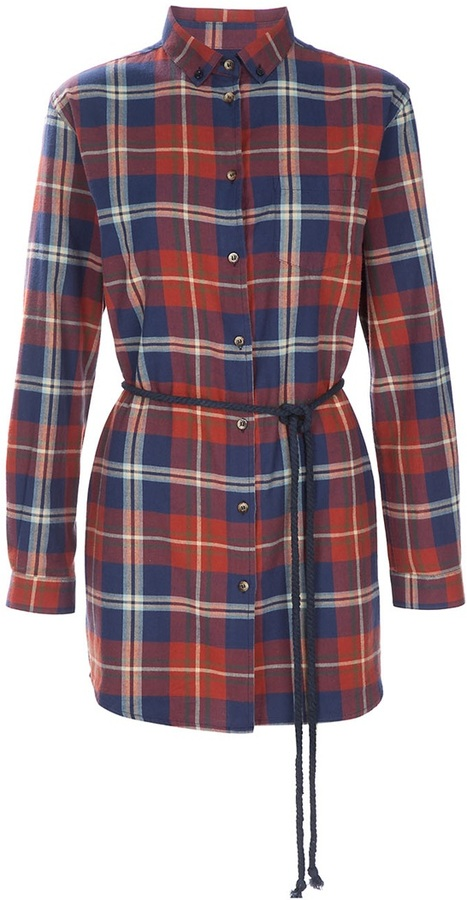 Libertine-Libertine Plaid shirt dress