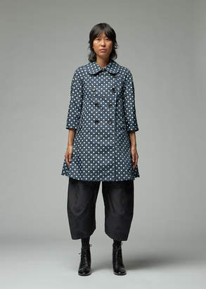 Comme des Garcons Mixed Polka Dot Trench
