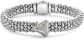 Lagos Diamond Pyramid Bracelet