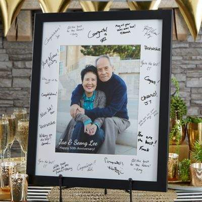 Bed Bath & Beyond Anniversary Signature 8-Inch x 10-Inch Photo Frame