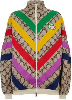Gucci GG Supreme Stripe Track Jacket