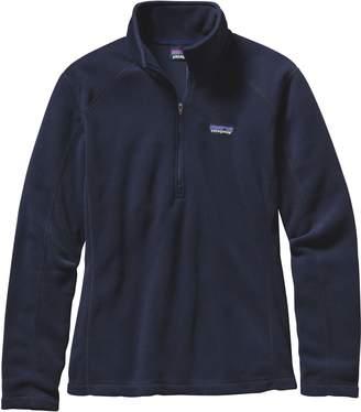 Patagonia Micro D(R) Quarter-Zip Fleece Pullover