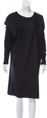 MM6 MAISON MARGIELA Midi Long Sleeve Dress