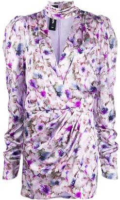 Filles a papa floral-print wrap-effect dress