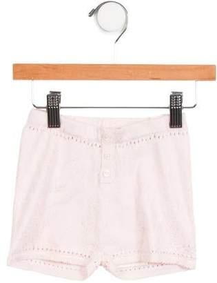 Billieblush Girls' Metallic Knit Shorts w/ Tags