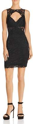 GUESS Silvana Sleeveless Lace Cutout Dress
