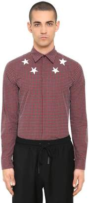 Givenchy Star Print Cotton Chenille Shirt