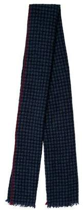 Brunello Cucinelli Cashmere-Blend Knit Scarf