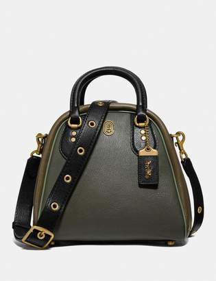 Coach Marleigh Satchel In Colorblock With Patch
