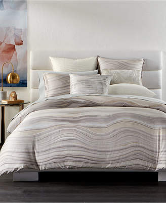 Hotel Collection Agate Pima Cotton Full/Queen Duvet Cover
