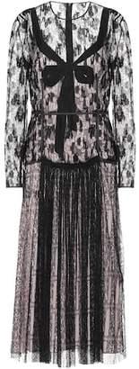 Bottega Veneta Silk lace dress
