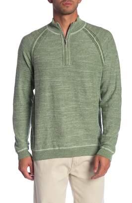 Tommy Bahama Sandy Bay Flip Half Zip Sweater