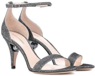 Nicholas Kirkwood Glitter sandals