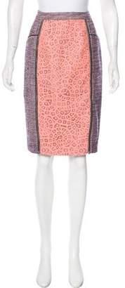Rebecca Minkoff Woven Knee-Length Skirt w/ Tags