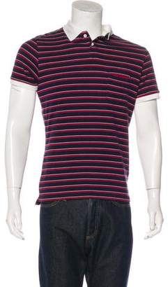 Band Of Outsiders Striped Polo Shirt