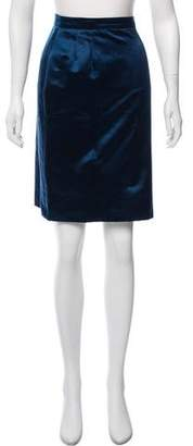 Saint Laurent Vintage Satin Skirt