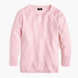 J.Crew Three-quarter sleeve everyday cashmere crewneck sweater