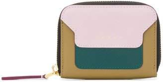 Marni colour block logo wallet