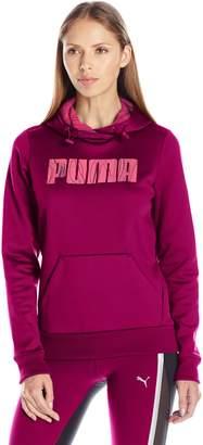 Puma Women's Elevated Polyester Fleece Hoodie