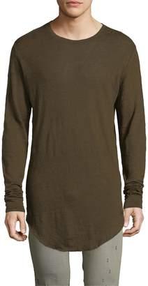 IRO Men's Odon Curved Hem T-Shirt