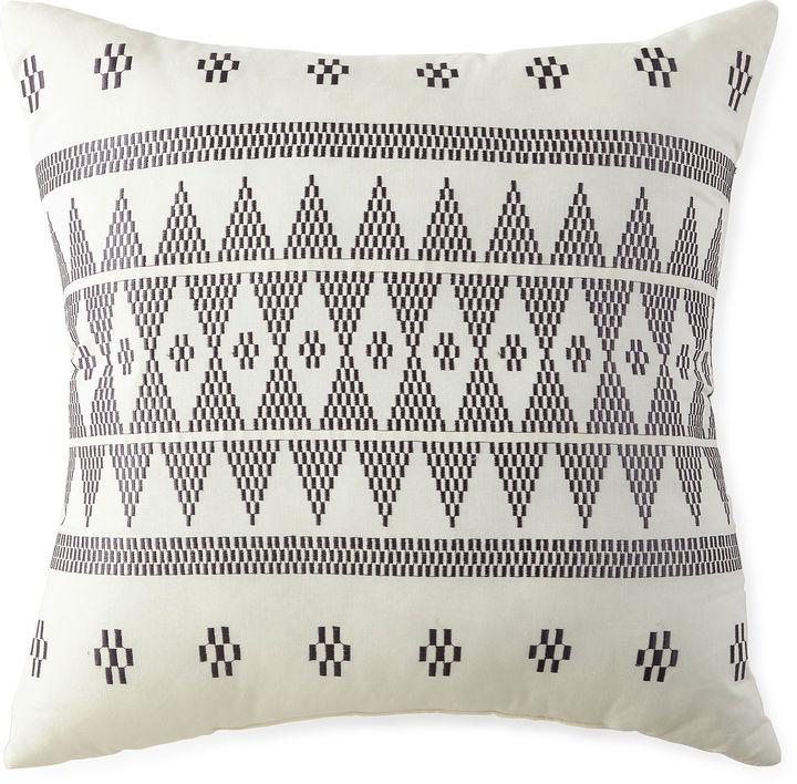 Asstd National Brand Miller Stripe Square Decorative Pillow
