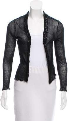 Eileen Fisher Long Sleeve Open Front Cardigan