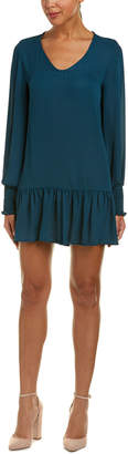 One By One Smocked Shift Dress