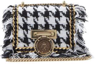 Balmain Tweed Box Bag