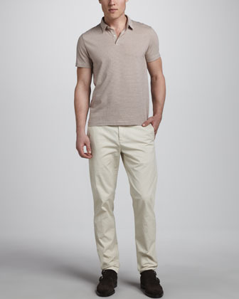 Theory Perth Slim Cotton Pants