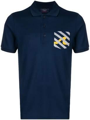 Paul & Shark classic polo shirt with chest pocket