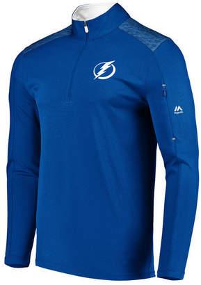 Majestic Men Tampa Bay Lightning Ultra Streak Half-Zip Pullover