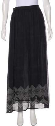 Band Of Outsiders Pleated Maxi Skirt