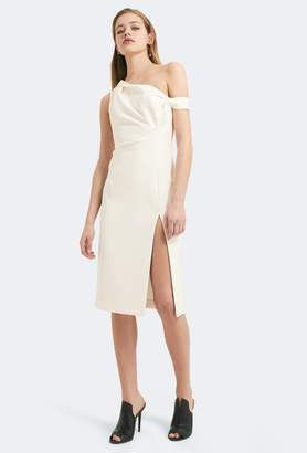 Aq/Aq Didion Structured Knee Length Dress