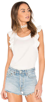 Wildfox Couture Short Sleeve Top in White $148 thestylecure.com