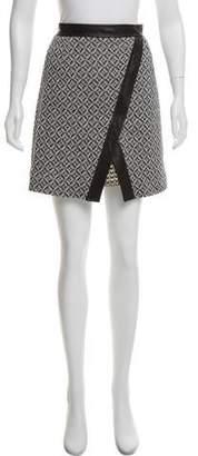 Tamara Mellon Asymmetric Mini Skirt